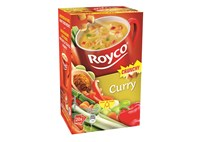 Royco curry et croutons 20p