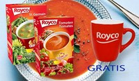 2 x Royco Minute Soup au choix + GRATIS 1 MUG