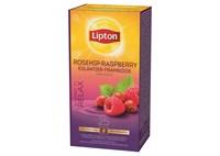 Lipton eglantier framboise 25p