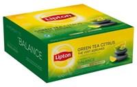 LIPTON thé vert agrumes 100p