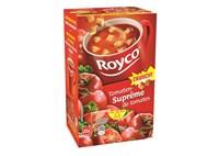 ROYCO MINUTE SOUP Supreme de tomates et croutons 20 sachets