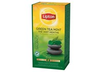 Lipton green menthe Prof 25p