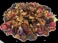 Thé en vrac, infusion fruitée fruit de la foret 100g