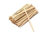 Spatules en bois 1000 pièces | dispenser | Touillettes | Eco-Friendly