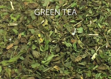thé en vrac - thé vert - groene losse thee - green loose tea