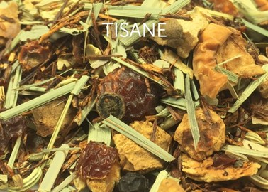 tisane - infusion sans théine - thé en vrac - loose tea - losse thee